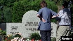 Могила Рудольфа Гесса в Баварии