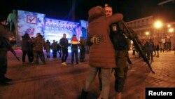 В Донецке после объявления результатов так называемых выборов