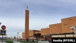 Казан милли-мәдәни үзәге тирәсе төзекләндерелгән