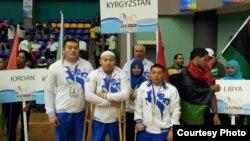 Пауэрлифтинг боюнча Кыргызстандын курамасы Азия чемпиондугунда. Малайзия, Куала-Лумпур, 2013-ж.