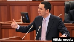 Prime Minister Omurbek Babanov