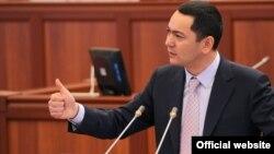 Премьер-министр Кыргызстана Омурбек Бабанов.