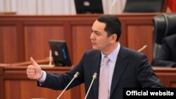 Kyrgyz Prime Minister Omurbek Babanov