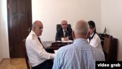 Zakir Qaralov vətəndaşları qəbul edir - 7 iyun 2013