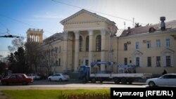 Севастопольская горбольница №1. Апрель 2018 года