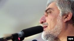 Абдулла Абдулла, кандидат в президенты Афганистана. Кабул, 21 августа 2014 года.