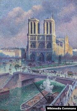 «Нотр-Дам де Пари, 1900-жыл». Максимельен Люс 1907-жылы тарткан эмгек.