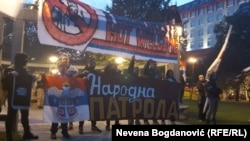 Antimigrantski protest održan u Beogradu 25. oktobra