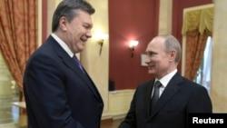 Viktor Janukovič i Vladimir Putin