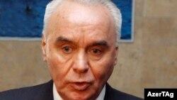 Ադրբեջանի փոխարտգործնախարար Մահմուդ Մամեդգուլիև, արխիվ