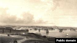 Севастополь перед війною (з Північної сторони)