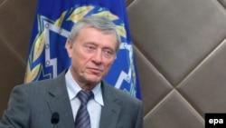 ҰҚШҰ бас хатшысы Николай Бордюжа. Бішкек, 10 қазан 2013 жыл.