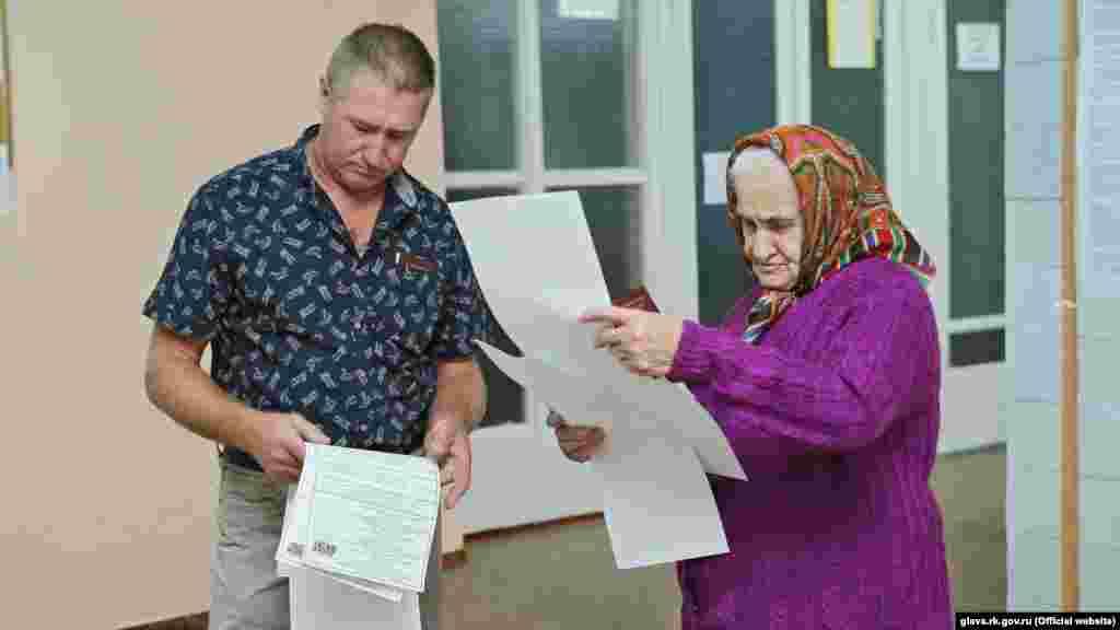 Симферопольский избирательный участок в школе №10