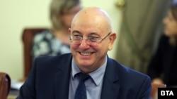 Министърът на околната среда и водите Емил Димитров