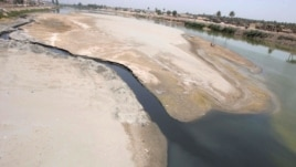 The Euphrates River in Hindiya, Iraq