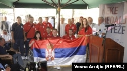 Ispraćaj srpskih sportista na Paraolimpijske igre, 20. avgust 2012.