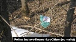 Обломки самолета президента Польши, разбившегося 10 апреля 2010 года