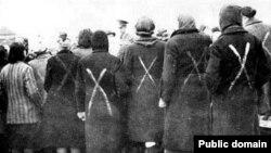 Заключенные нацистского концлагеря Равенсбрюк