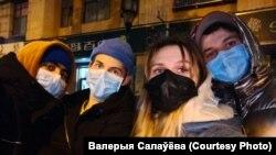 Граждане Беларуси в Ухане.