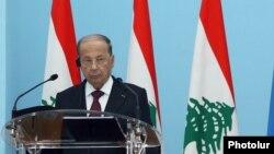 Президент Ливана Мишель Аун (архив)