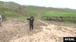 Мощный сель сошел на кишлак Иттифок в Гиссаре