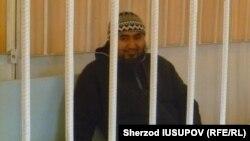 Имам Рашодхон Камалов в зале суда. Ош, 24 февраля 2015 года.