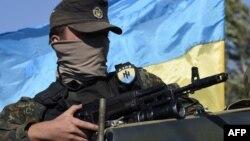 Боєць добровольчого батальйону «Азов», Маріуполь, 5 вересня 2014 року