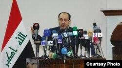 رئيس مجلس الوزارء نوري المالكي