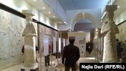 آثار عراقية في المتحف الوطني ببغداد
