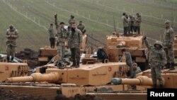 ارتش ترکیه روز ۳۰ دیبا حمله به عفرین در شمال سوریه عملیاتی با نام «شاخه زیتون» را آغاز کرد