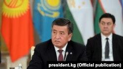 Сооронбай Жээнбеков Астанадагы жыйында.