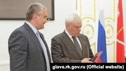 Сергій Аксьонов і Георгій Полтавченко