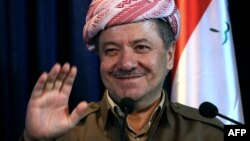 Iraqi Kurdish leader Masud Barzani