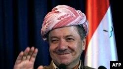 رئيس إقليم كردستان مسعود بارزاني
