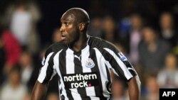 Former Engand soccer international Sol Campbell