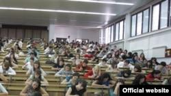 Studenti na banjalučkom Univerzitetu, ilustracija