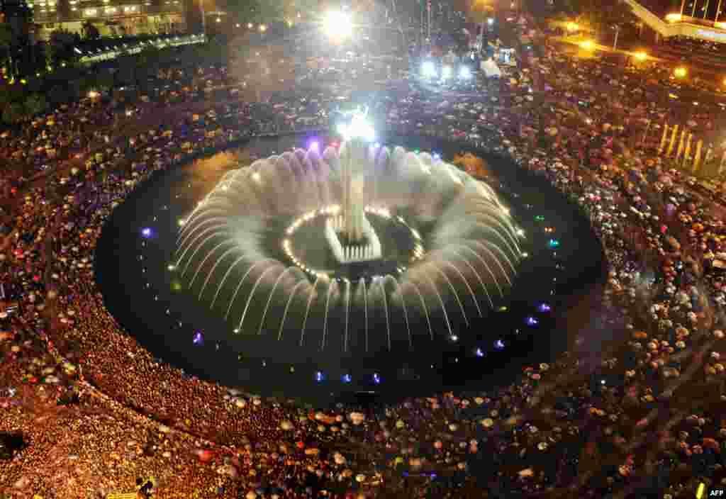 Xhakartë, Indonezi,31 dhjetor 2012.