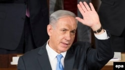 Біньямін Нетаньягу під час виступу в Конгресі США, 3 березня 2015 року