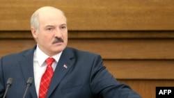 Президент Беларуси Александр Лукашенко. Минск, 21 апреля 2011 года.