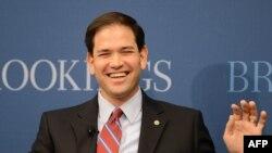 Senator Marco Rubio Florida məğlubiyyətindən sonra kampaniyanı dayandırıb