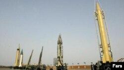 Иранские баллистические ракеты. Иллюстративное фото.