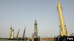 موشک های بالستیک ایران( عکس از آرشیو)