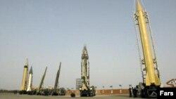 Një lloj i raketave të Iranit