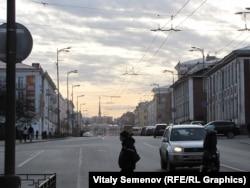 Пустые улицы Петрозаводска