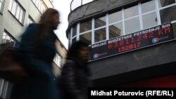 Brojač budžetske potrošnje u Sarajevu