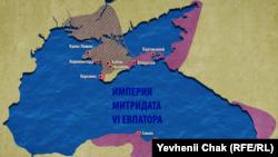 Причорномор'я після походів Діофанта. Початок І століття до нашої ери