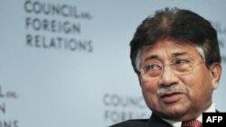 Ish presidenti i Pakistanit Pervez Musharraf gjatë një fjalimi në Këshillin për Marrëdhënie të Jashtme në Nju Jork