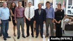 Миңнеханов Питтсбургта татарлар белән очраша. 2012 ел, сентябрь