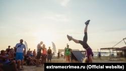 На фестивале «Экстрим-Крым». Оленевка, 2015 год