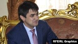 Тожикистон президенти ўғли Рустам Имомали.